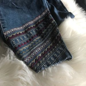 Style & Co. embroidered ankle pant, NWT